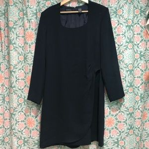 Vintage Liz Claiborne Black Dress